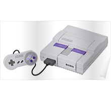 Super Nintendo Entertainment System Poster