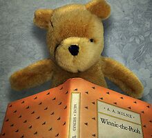 Winnie Reads Winnie by debidabble