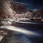 Red Rock Crossing Digital IR by Alex Stapleton