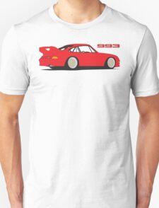 Porsche 993 Graphic - Red T-Shirt