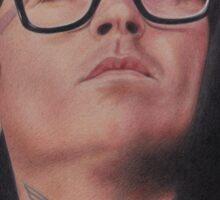 Joel Birch (The Amity Affliction) Sticker
