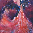 Spanish Dancer - Ballet & Dance Art Gallery by Ballet Dance-Artist