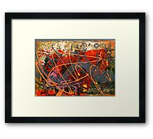 THE DANCE WITH DRAGONS Framed Print