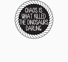 Chaos killed the dinosaurs darling Men's Baseball ¾ T-Shirt