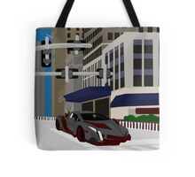 Burghal Thoroughfare Conveyance Tote Bag