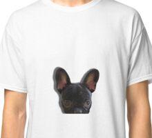 French Bulldog Peekaboo Classic T-Shirt