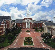 Christopher Newport University by Oldetimemercan