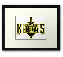 The Gotham City Knights Framed Print