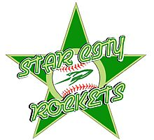 The Star City Rockets Photographic Print