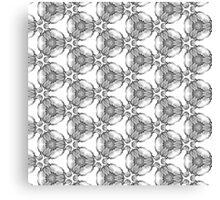 pencil pattern drawing Canvas Print