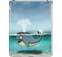 Whale ~ Happy I don't live in Japan iPad Case/Skin