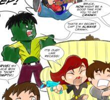 Chibi Avengers Sticker