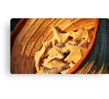 Warm Starfish Canvas Print