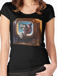 Ultra TV Time Women's Fitted Scoop T-Shirt