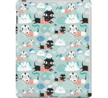 funny texture of the kittens iPad Case/Skin