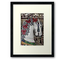 Colorful carousel horse Framed Print