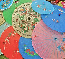 Japanese Umbrella's by photopen4