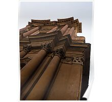 Architecture in Rome, Italy - One of Over 900 Churches in the City Poster