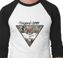 Animal Pyramid Men's Baseball ¾ T-Shirt