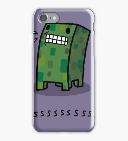 Creeper Simple Minecraft iPhone Case/Skin