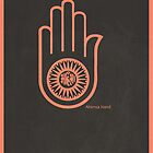 Ahimsa Hand - Jainism by KRPace