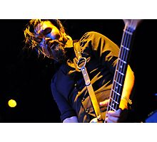 Bassist - Pat Kim Photographic Print