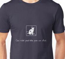 Le Chat de Schrödinger Unisex T-Shirt