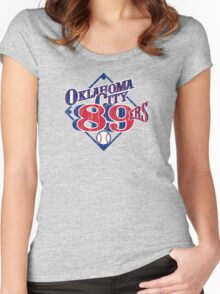 Oklahoma City 89ers Women's Fitted Scoop T-Shirt