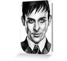 Oswald Cobblepot Greeting Card