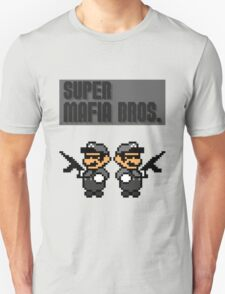 Super Mafia Bros  Unisex T-Shirt