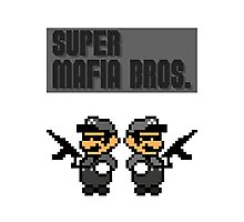 Super Mafia Bros  Photographic Print