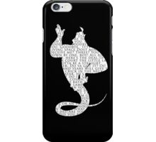 Genie Quotes iPhone Case/Skin