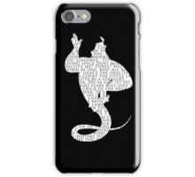 Genie Quotes iPhone Case/Skin