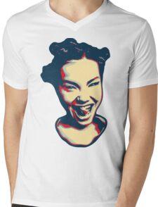 Björk Mens V-Neck T-Shirt