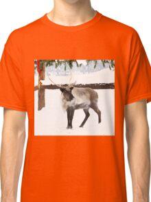Reindeer for Christmas. Classic T-Shirt