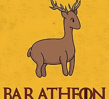 Game of Thrones - House Baratheon Sigil by charsheee