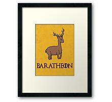 Game of Thrones - House Baratheon Sigil Framed Print