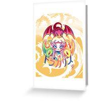 Dracarys - Chibi Daenerys Targaryen Greeting Card
