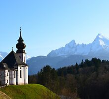 The Alpine Church by LittleMissEme