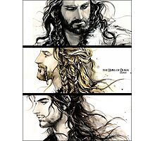 The heirs of Durin (3) Photographic Print