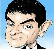 MR BEAN IPAD CASE by David Lumley