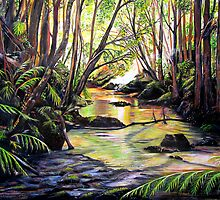 Blue Mountains Creek by © Linda Callaghan