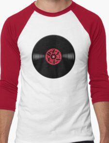 Dzy Vinyl Red Men's Baseball ¾ T-Shirt