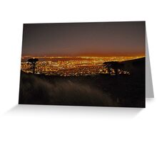 Cape Town Greeting Card