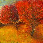 autumn tree's by glennbrady