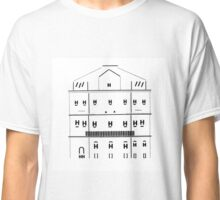 typographical house illustration Classic T-Shirt
