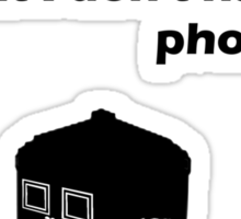 I don't have the phone box (Black) Sticker