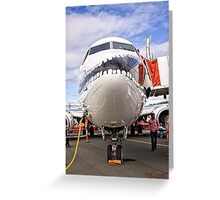 """""""Show Us Your Smile"""" - the Airline Way Greeting Card"""