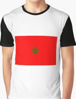 Flag of Morocco Graphic T-Shirt