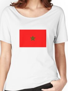 Flag of Morocco Women's Relaxed Fit T-Shirt